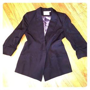 Jackets & Blazers - Black 3/4 Sleeve Blazer