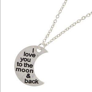 Moon Love Pendant necklace