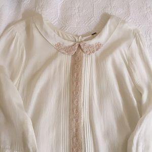 FREE PEOPLE white blouse