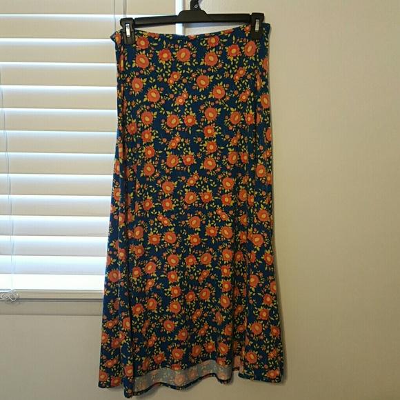 25 lularoe dresses skirts lularoe maxi skirt