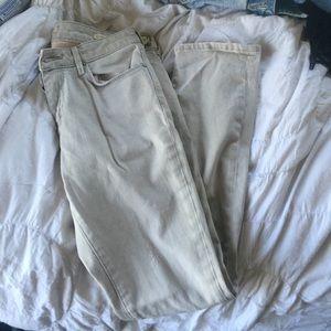 Zara cigarette leg skinny jeans