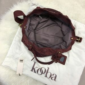 "Kooba Bags - Kooba ""Jackson"" Leather Convertible Satchel"