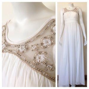 City Studio Dresses & Skirts - NWT Long White Dress