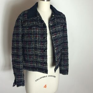 Maison Kitsune Jackets & Blazers - Maison Kitsune women's tweed jacket, sz 36