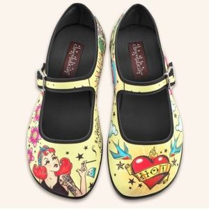 Hot Chocolate Designs Shoes - Hot Chocolate Designs Mary Jane Flats