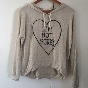 Lightweight soft cotton hoodie