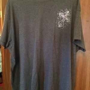 Tops - Grey Bling T-Shirt