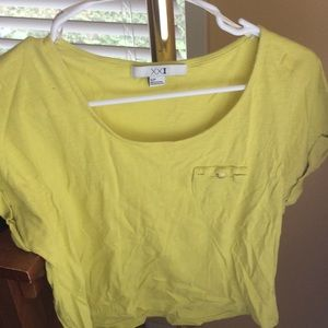 Yellow-Green Forever 21 Top