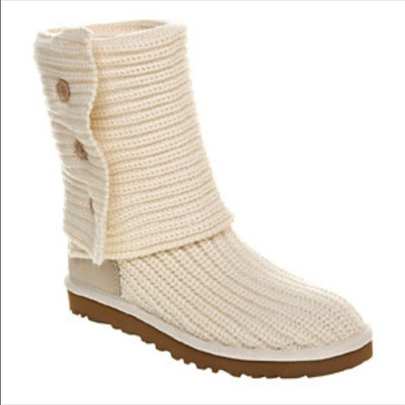 Uggs Boots Knitted Mount Mercy University