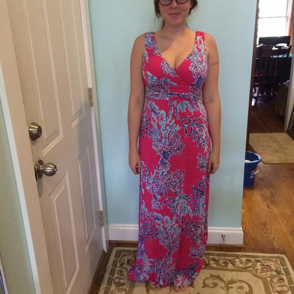 Lilly Pulitzer Dresses Samba Sloane Maxi Dress Poshmark