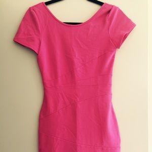 Pencey Dresses & Skirts - Pencey pink bandage dress