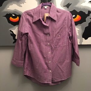 Coldwater Creek Tops - Coldwater Creek lavender shirt Small - NWT!