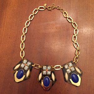 J Crew Statement Tortoise Collar Gold Jewelry