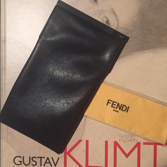 59c2c3d3690 FENDI Accessories - 🍃☀ Fendi leather soft glasses case