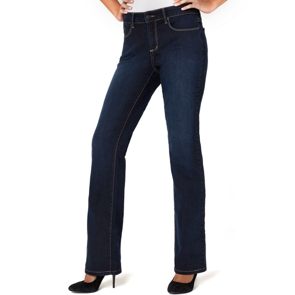 77% off NYDJ Denim - NYDJ Barbara Modern Bootcut Jeans Dark Wash ...