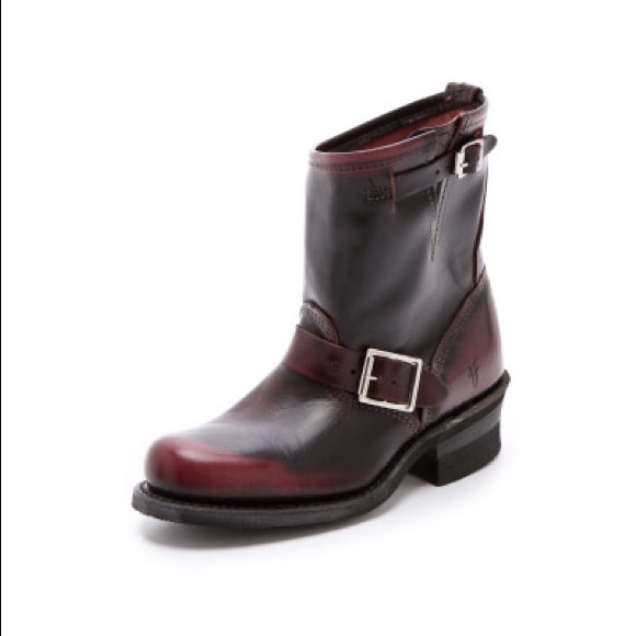 7e8e1f478 Frye Shoes | Engineer 12 R Boots In Plum | Poshmark