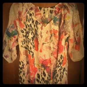 Cubism multi colored Blouse