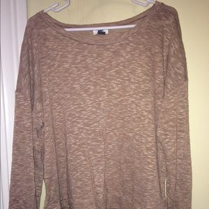 Old Navy, light weight tan/brown sweater