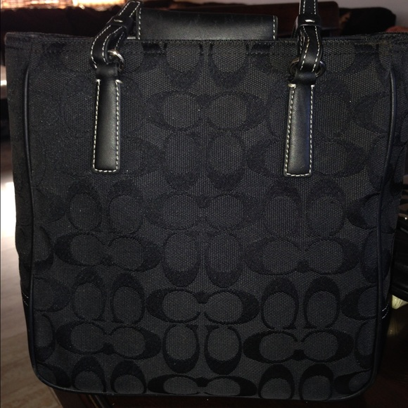 ... usa sale coach jacquard black lunch tote bag 0ba44 17af8 6e83dbfce9865