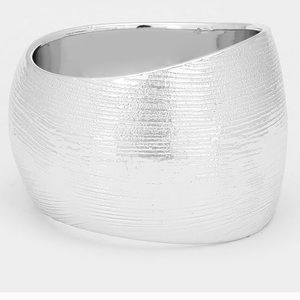 Silver Metal Bangle