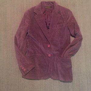  Vintage velour blazer