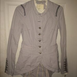 Free People NEW Victorian Lace-up Jacket