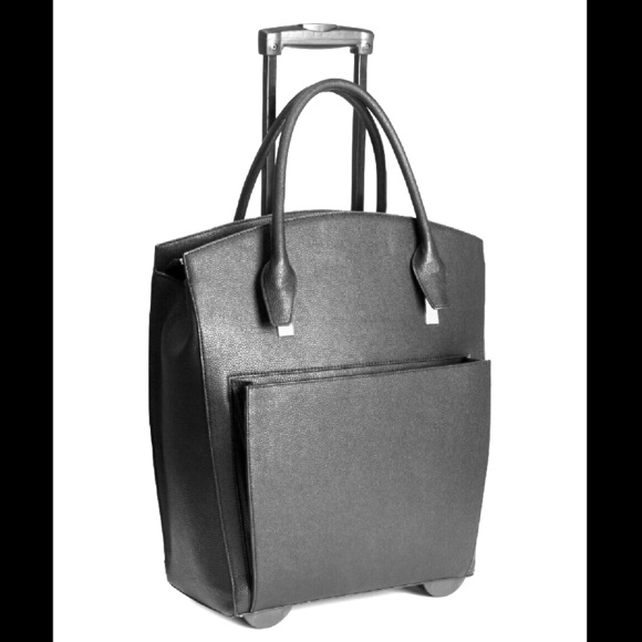 H Amp M Rolling Briefcase Weekend Bag With Wheels From L S