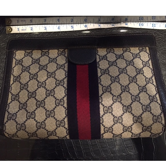 4e451077fc4372 Gucci Bags | Soldvintage Clutchcosmetic Pouch | Poshmark