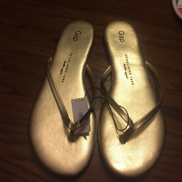 18ca927c4af4 GAP Shoes - Gold gap women sandals size 7