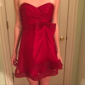 SALE!!! Silk Gown in Red