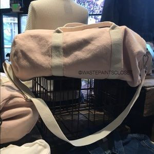 57f4c20e690 Brandy Melville Bags   Pink Duffle Bag Nwt   Poshmark