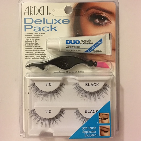 d111f01e770 Ardell Makeup | Deluxe Pack 110 With Adhesive Tool | Poshmark