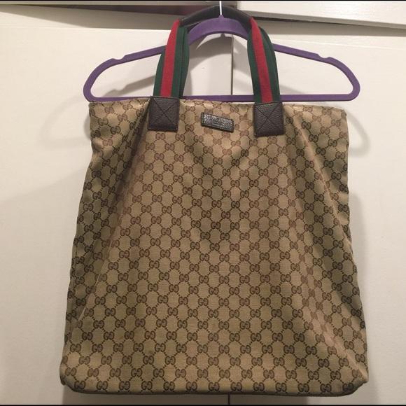 2d87a9a4b1f Gucci Handbags - 🔴Reduced🔴 Gucci original GG canvas tote