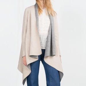 Zara Sweaters - Zara Two-faced Cardigan Sweater