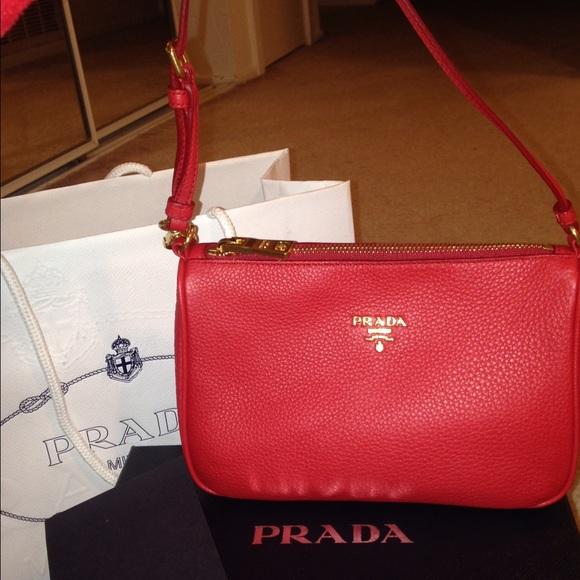 Prada Bags   Brandnew Leather Small Handbag New With Box   Poshmark f1d4971271