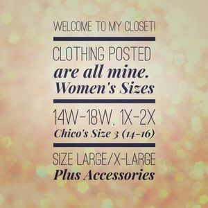 Other - Women's sizes and Chico's Tops/Jackets