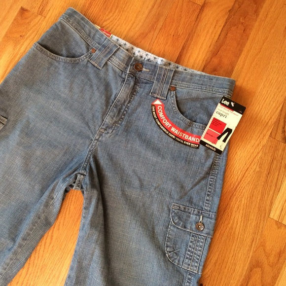 Lee - 💕NWT💕. Lee Denim Capris from Lisa's closet on Poshmark