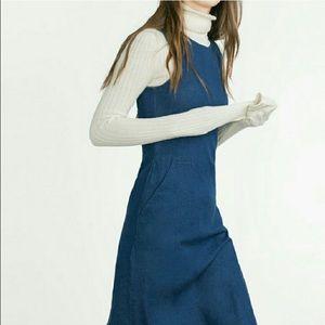 Zara denim dress NWOT