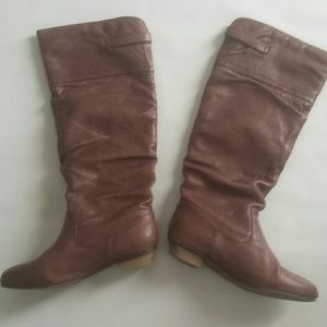 Leather Brown Steve Madden Boots