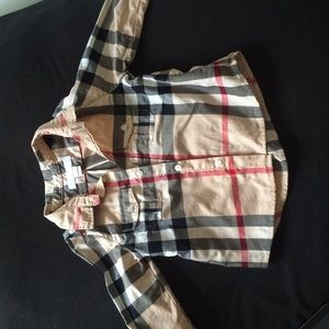 Tops - Baby Burberry shirt