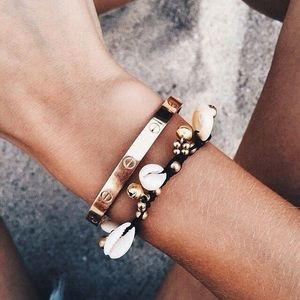 Love Cuff Bangle Bracelet