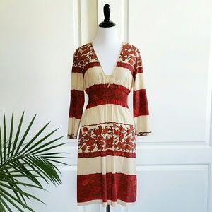 AKA New York Dresses & Skirts - AKA New York V Neck Floral Dress S