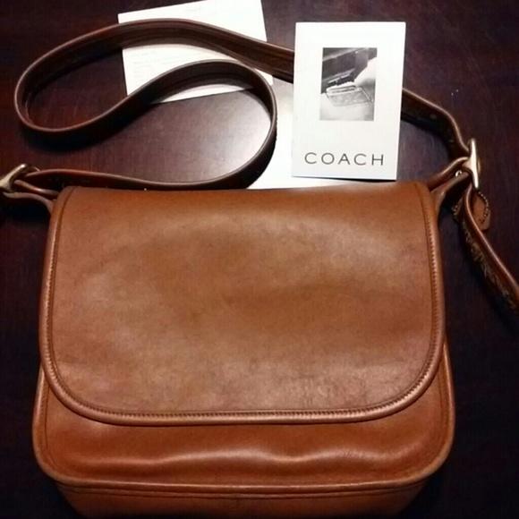 02ccdbe02356 Coach Handbags - Coach Patricia Legacy Stewardess Messenger Bag