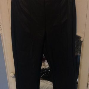 Black leather pants from Zara! Brand new!!