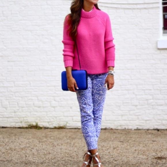 Zara - Zara Hot Pink Knit Sweater from Mandy's closet on Poshmark