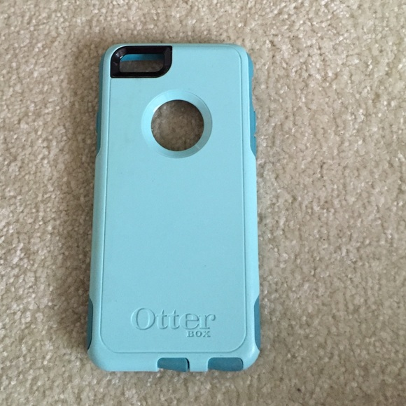 low priced 6ff77 7a174 Teal/light blue otter box commuter iPhone 6/6s