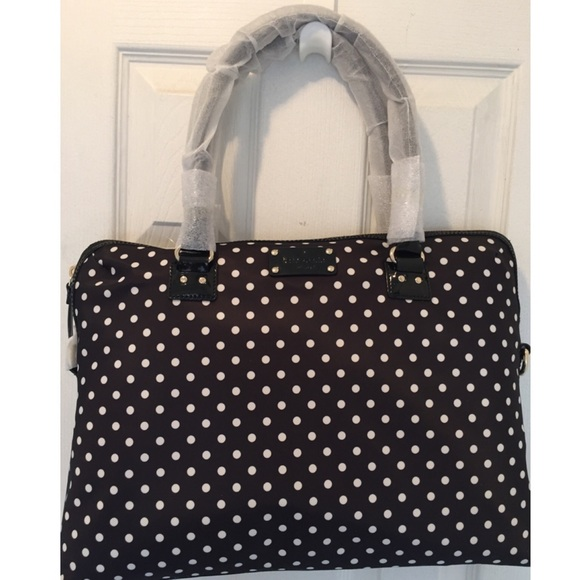 9 off kate spade handbags soldbrand new kate spade polka dot soldbrand new kate spade polka dot laptop bag junglespirit Gallery