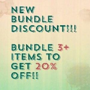 Accessories - New Bundle discount!!