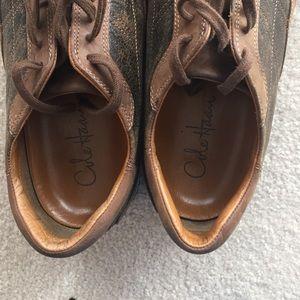 COLE HAAN NIKE Air Sport Oxford Men's Shoes Tan Brown Sz 9.5 M air Granada
