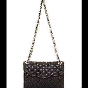REBECCA MINKOFF QUILTED STUDDED AFFAIR (mini)